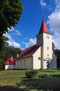 Lielvārdes ev. lut. baznīca  Foto: Vitolds Mašnovskis