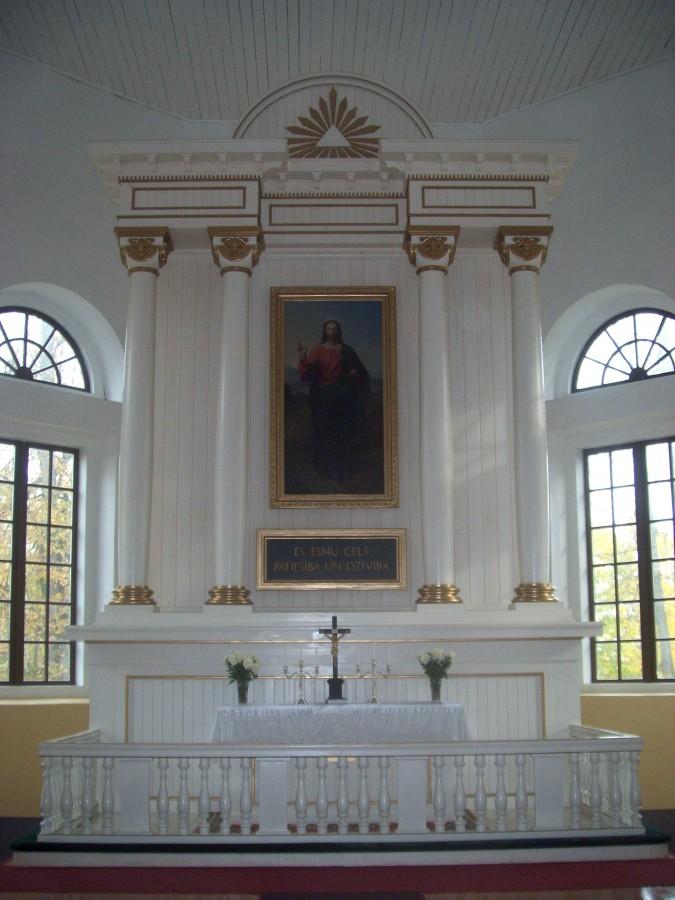 Nicas ev. lut. baznicas altaris